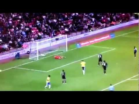 Brazil vs Team GB - 2012 Olympic Highlights - (2-0) ALL GOALS