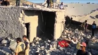 آثار غارات التحالف على المواجهة بين النظام السوري ومعارضيه
