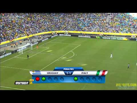 Penalty Italy 3x2 Uruguay Amazing Gianluigi Buffon (FIFA Confederations Cup 06.30.13)