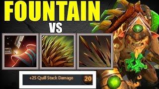 Fountain Vs Bristleback | Dota 2 Ability Draft