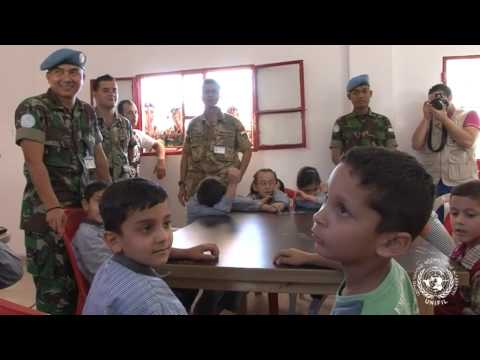 Satgas Indo Mcou Konga Xxx-b unifil  School Engagement Tura video