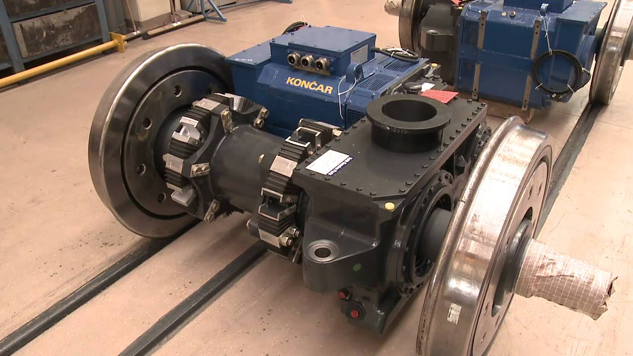 The low floor electric multiple unit kon ar youtube for What is traction motor