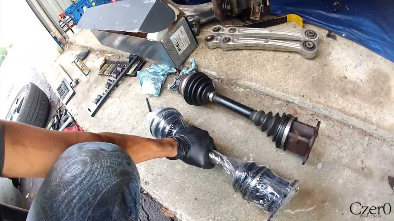 How To Replace Axles On Audi A4 A6 A8 Vw Passat Jetta