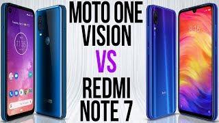 Motorola One Vision vs Xiaomi Redmi Note 7 (Comparativo)