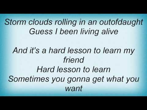 Rod Stewart - Hard Lesson To Learn Lyrics