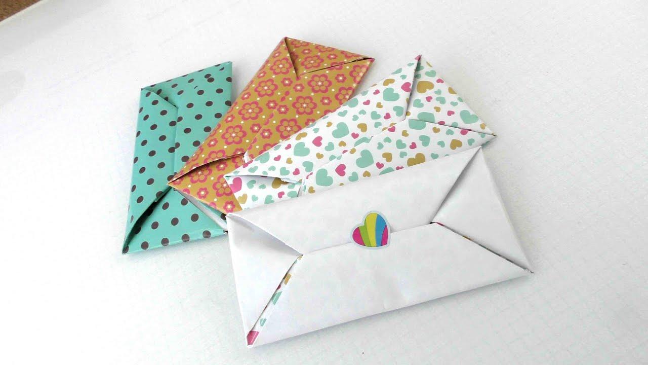 Сделать конверт с поздравлением
