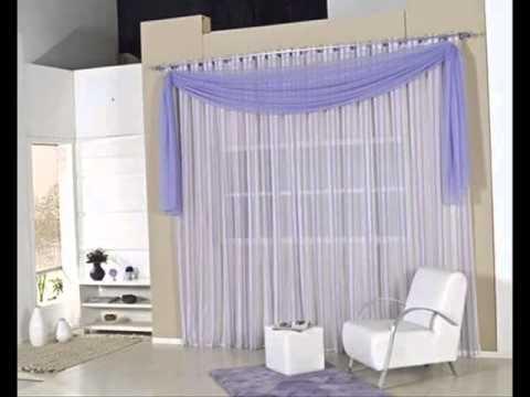 Cortinas para sala youtube for Modelos de cortinas modernas
