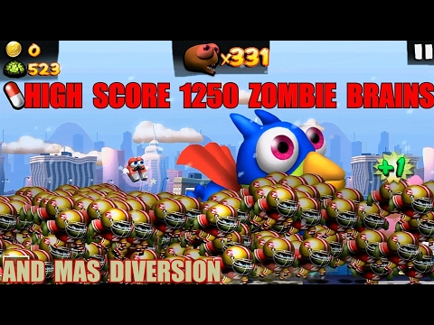 Zombie Tsunami  High Score 1250 Zombies And Mas Diversion.
