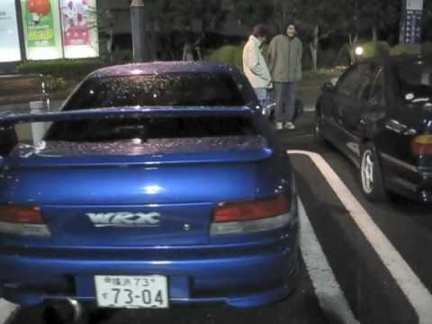 Wangan C1 and Daikoku futo ( 大é»'ã µé  ) Subaru Impreza ...
