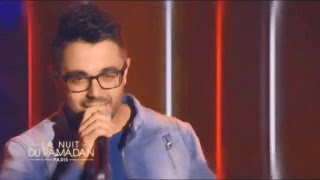 Chawki - Time Of Our Lives & Habibi I Love You Ft. Kenza Farah Live @ La Nuit de Ramadan