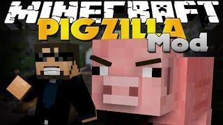 Minecraft Mod - PigZilla Mod - HAMM'S REVENGE ON TOY STORY