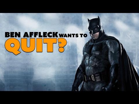 Rumor: Ben Affleck Wants to QUIT Batman? - The Know Entertainment News