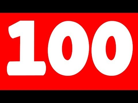 One To Hundred Number Song video