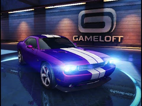 Asphalt 8 The Great Wall First Race With Dodge Challenger