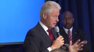 VIDEO: Bill Clinton di Gouvenman Martelly-Lamothe la pi Décisif ke tout lot yo