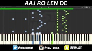download lagu Aaj Ro Len De - Piano Tutorial  1920 gratis