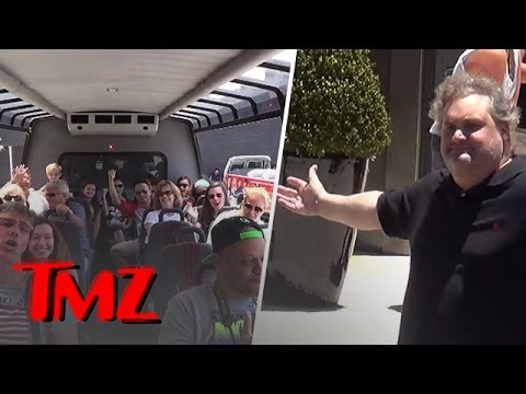 Artie Lang Caught By The TMZ Tour
