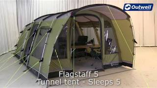 Outwell Flagstaff 5 Tent | Innovative Family Camping