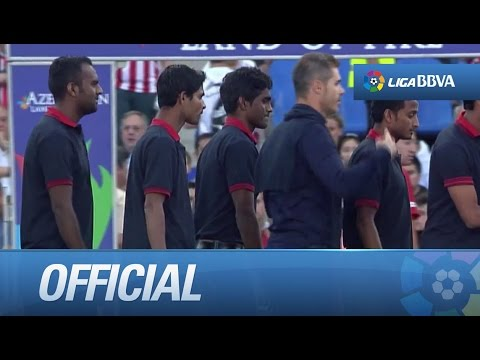 Atlético Kolkata's tribute, indian team twinned with Atlético de Madrid
