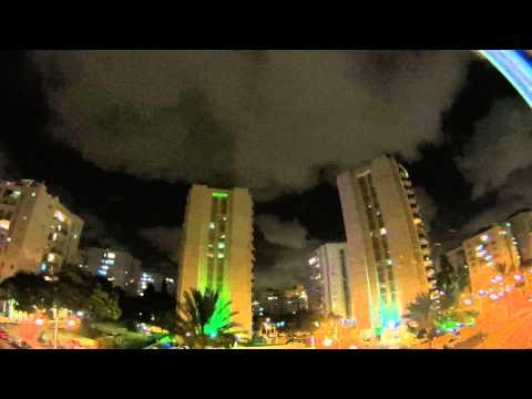 Tel Aviv, 18/July/2014, 21:15 p.m. - Israel Under Hamas' Rockets Fire