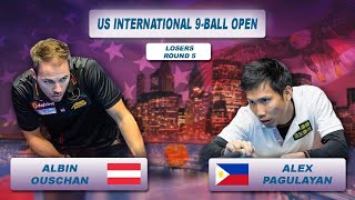 Albin Ouschan - Alex Pagulayan | US International 9-Ball Open 2018