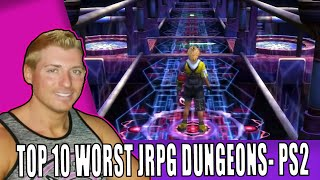 Top 10 Worst RPG Dungeons - PlayStation 2 Edition