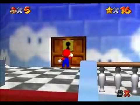 Super Mario 64 fini en 15 min 35