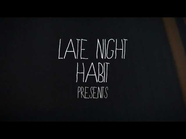 """The Jersey Lines"" - Late Night Habit (Official Lyric Video)"
