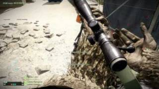 Battlefield Bad Company 2 : My Sniper Montage PC