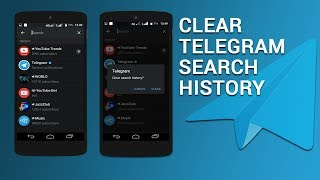 How to Clear Telegram's Search History in Android