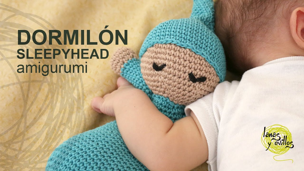 Tutorial Muneco Dormilon Amigurumi Sleepyhead (English ...