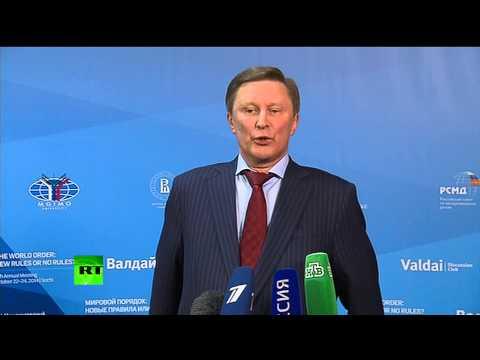 Иванов: Не свалив Путина, ничего с Россией не сделаешь video