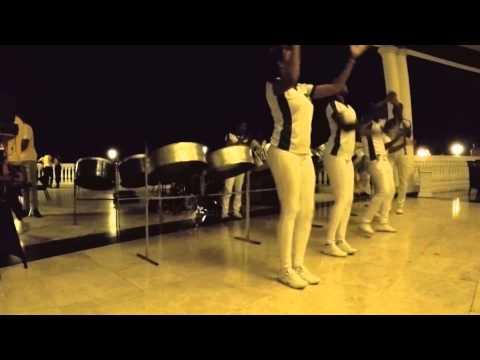 Silver Birds Uptown Funk - Steel Band Jamaica