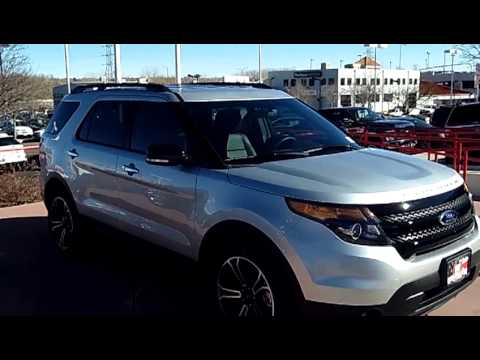 2013 Ford Explorer Sport At Phil Long Ford Of Motor City Youtube