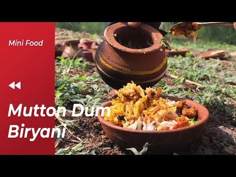 [FAST EDIT] Miniature Traditional Mutton Biryani Recipe | Miniature Cooking