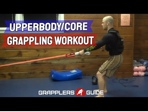 Jason Scully - Upperbody/Core Blaster Workout - BJJ Workout -  Grappling Workout Image 1