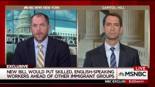 August 3, 2017: Sen. Cotton discusses the RAISE Act on Morning Joe