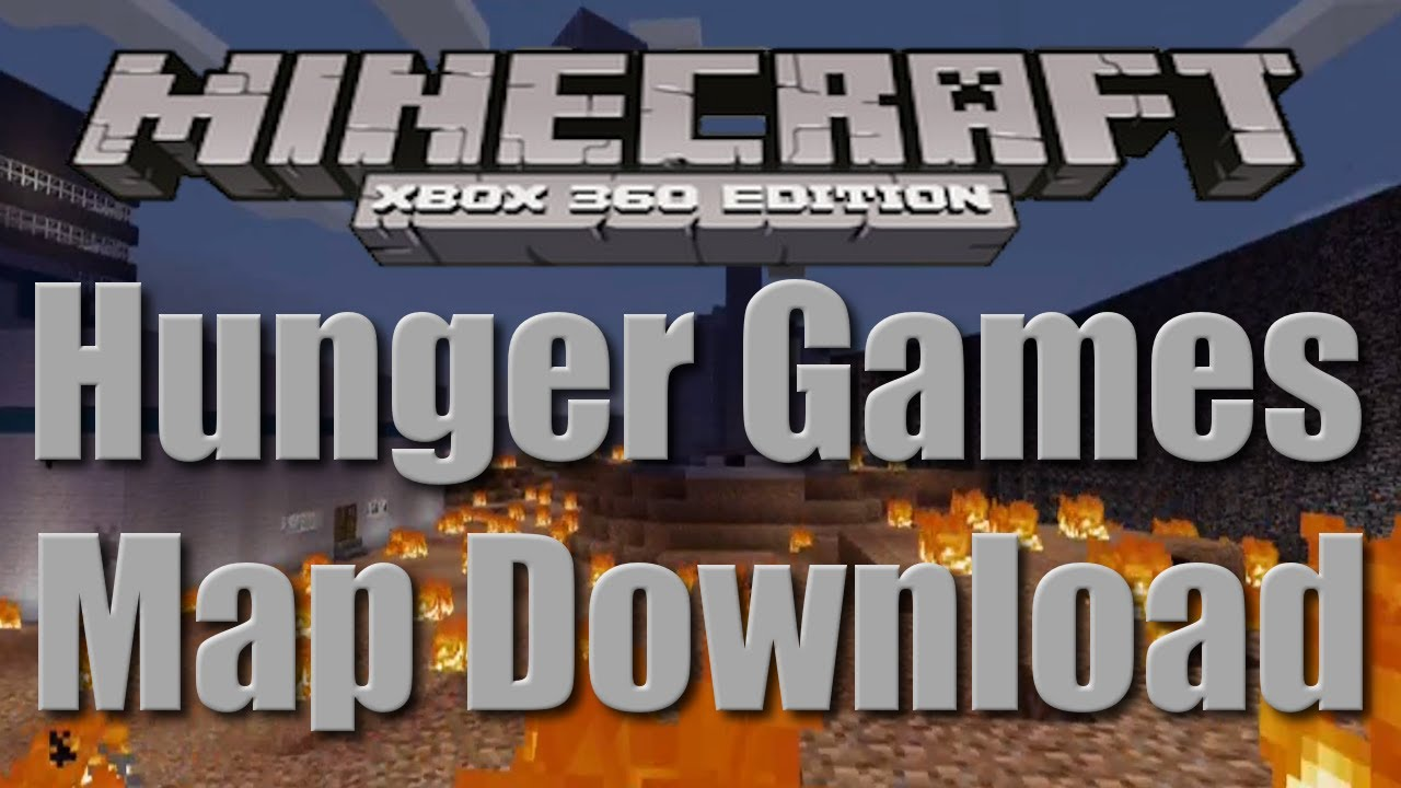 Xbox 360 Hunger Games : Minecraft xbox hunger games map quot scorched earth w