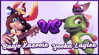 Banjo-Kazooie vs. Yooka-Laylee