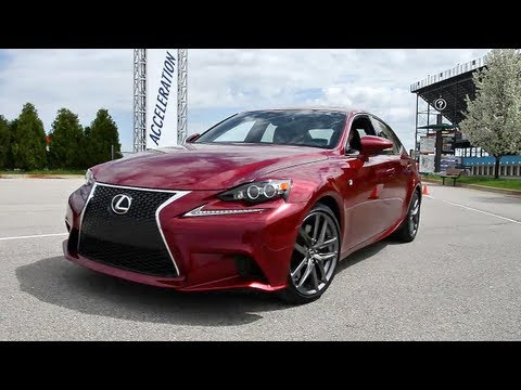 2014 Lexus IS 350 F Sport at MIS (Evaluation Course) - WINDING ROAD POV Test Drive