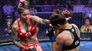 Desiree Yanez vs Paulina Vargas Full Fight | MMA | Combate Texas