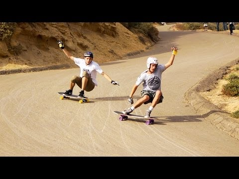 Longboarding: Downhill Disco with Original Skateboards