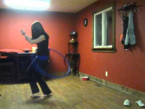 Thrift shop hoop dance