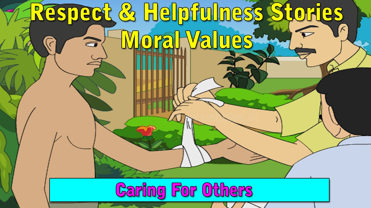 short essay on moral values for kids