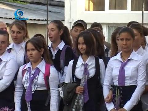 Inceput de an scolar la Liesti 2012