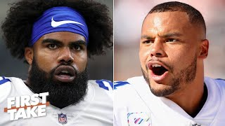Ezekiel Elliott or Dak Prescott: Who is the key to the Cowboys' success? | First Take