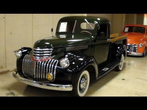 1946 Chevrolet Pickup Nicely Restored Original Youtube