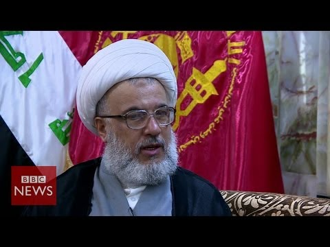 'Threat to peace' Iraqi cleric Sheikh Abdul Mahdi Karbalai - BBC News
