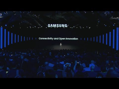 Samsung CES 2018 event in 10 minutes