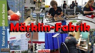 Visite de l'usine MÄRKLIN à GÖPPINGEN